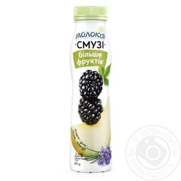 Molokiya Yogurt-Watermelon-Blackberry-Lavender Smoothies 2% 290g