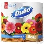 Toilet paper Dyvo white 8pcs 860g