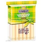Slavia Eco Cheddar Cheese Sticks 45% 150g