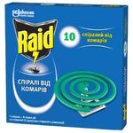 Спіраль Raid проти комарів 10шт