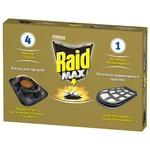 Приманка от тараканов Raid Max 4 приманки + 1 регулятор размножения