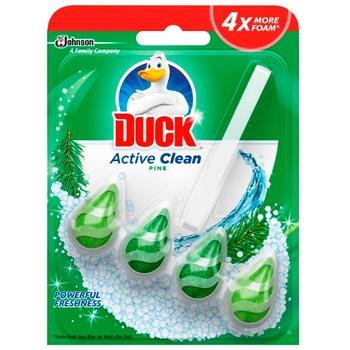 Засіб для чищення туалету Duck лісний 38,6г - купити, ціни на Ашан - фото 2