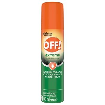 OFF! Exstreme Against Mosqouitoes Spray 100ml - buy, prices for Auchan - photo 2