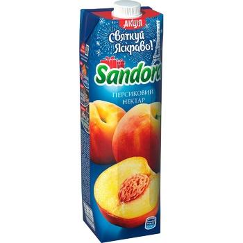 Нектар Sandora персик 950мл - купить, цены на Фуршет - фото 1