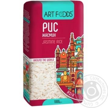Art Foods Jasmine Long-grain Rice 1000g - buy, prices for Furshet - image 1