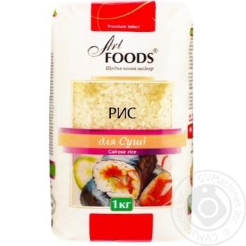Рис Art Foods круглый для суши 1кг - купить, цены на Novus - фото 1