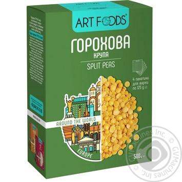 Крупа гороховая Art Foods 4x125г