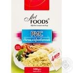 Рис нешлифованный Art Foods 4*125г