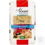 Рис Art Foods довгозернистий нешліфований 1кг