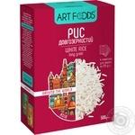 Рис Art foods долгозернистый порционный 4Х125г
