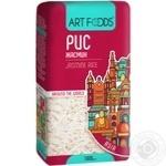 Рис Art Foods Жасмин длиннозернистый шлифованный 1кг