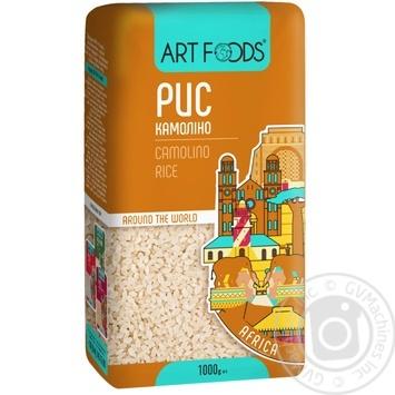 Рис круглий Art Foods Камоліно 1кг - купити, ціни на Novus - фото 1