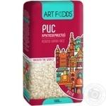 Рис Art Foods круглозерный 1кг