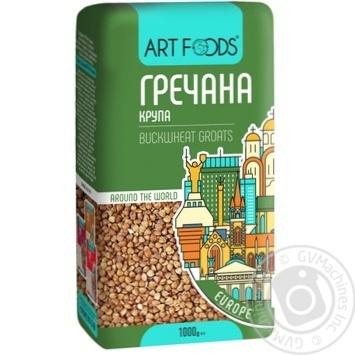 Крупа Art Foods гречана 1кг - купити, ціни на Novus - фото 1