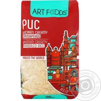 Рис басмати сreamy пропаренный Art Foods 1кг - купить, цены на Novus - фото 1