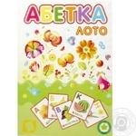 Набір картонний Лунапак Абетка-Лото A4