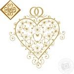 Серветки Luxy Чарівне серце 33*33см 20шт