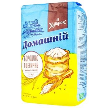 Khutorok Homemade Wheat Flour Highest Grade 2kg