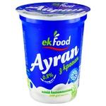 Напій кисломолочний Ekfood Айран з кропом 0,8% 200г