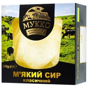Mykko Soft Classic Cheese 250g - buy, prices for CityMarket - photo 1