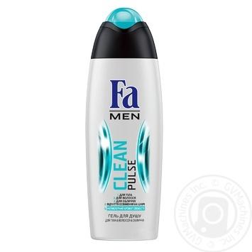 Гель для душа Fa Men Clean Pulse 3в1 250мл - купить, цены на Novus - фото 5