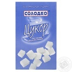 Сахар Солодко прессованный быстрорастворимый 500г - купить, цены на МегаМаркет - фото 1