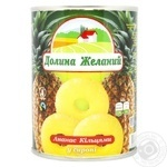 Dolina Zhekanii Pineapple Rings in Syrup 580ml