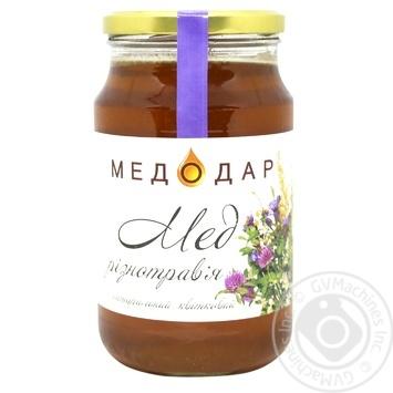 Мед Медодар разнотравья 1150г - купить, цены на МегаМаркет - фото 1