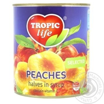 Tropic life In Syrop Peaches Halfs 850ml - buy, prices for Novus - image 2