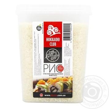 Рис Hokkaido Club для суші 1кг - купити, ціни на МегаМаркет - фото 1