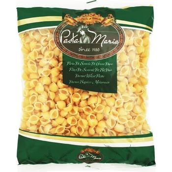 Макаронные изделия Pasta Maria Ракушки из твердых сортов пшеницы 400г - купить, цены на СитиМаркет - фото 1