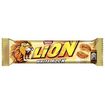 Батончик NESTLÉ® LION® White Rock 42г - купить, цены на УльтраМаркет - фото 1