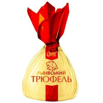 Конфеты Свиточ Львовский Трюфель весовые - купить, цены на Varus - фото 1