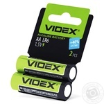 Videx Alkaline LR06/АА Batteries 2pcs - buy, prices for CityMarket - photo 2