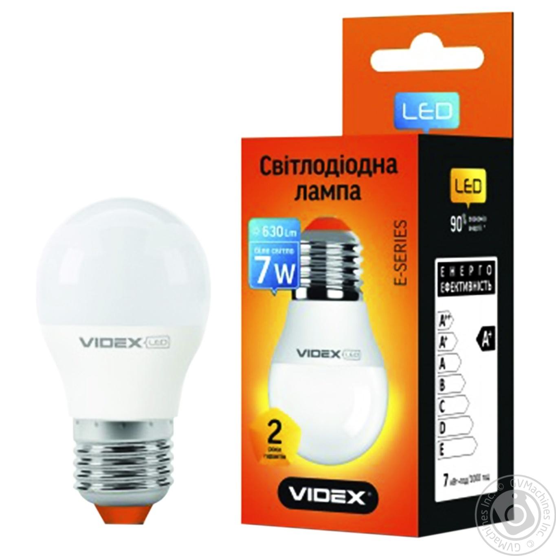 Купить 623, Лампа светодиодная Videx LED G45E 7W E27 4100K