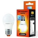 Лампа светодиодная Videx LED G45E 7W E27 4100K - купить, цены на Ашан - фото 1
