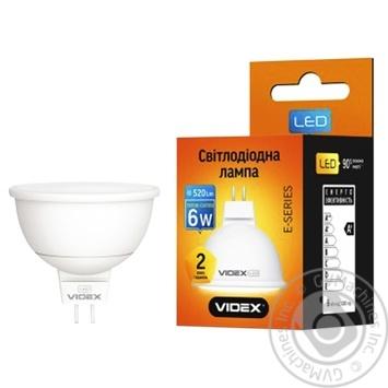 Лампа светодиодная Videx 6W GU5.3 220V - купить, цены на Таврия В - фото 1