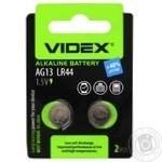 Videx Alkaline Battery AG13 LR44 2pc