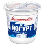 Йогурт Яготинський Греческий 2,5% 300г