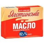 Масло Яготинське Екстра солодковершкове 82,5% 200г