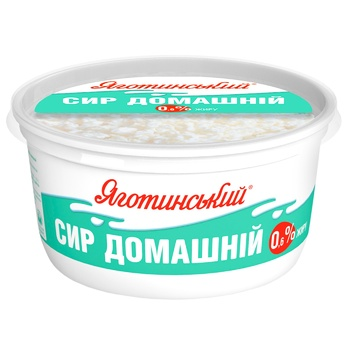 Yagotynsky Homemade Low-Fat Cottage Cheese 0,6% 370g - buy, prices for Novus - photo 2