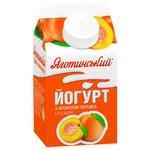 Йогурт з ароматом персика 1.5% Яготинський 450г