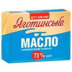 Масло Яготинское Селянське сладкосливочное 73% 180г