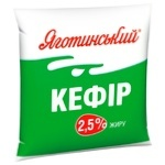 Кефир Яготинский 2,5% 400г