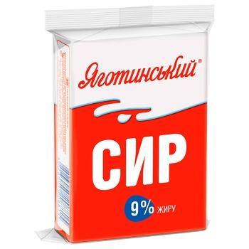 Творог Яготинский кисломолочный 9% 200г