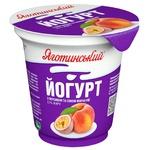 Йогурт Яготинский персик-сок маракуйи 2,1% 280г