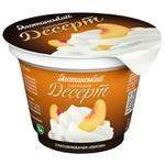 Yahotynskyi Peach Flavored Cottage Cheese Dessert 4,2% 180g