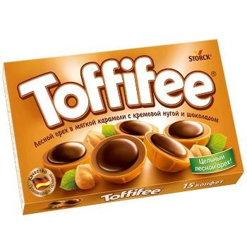 Toffife Sweets with Creamy Nougat and Hazelnuts 125g - buy, prices for CityMarket - photo 1
