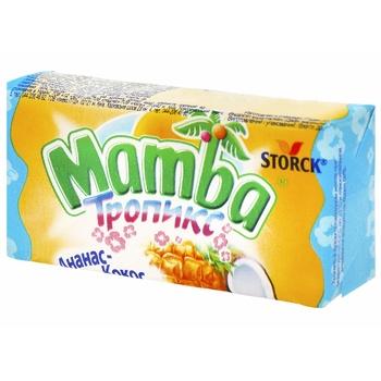 Конфеты Storck Mamba Тропикс 26,5г