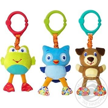 Іграшка Bright Starts звірі ворухливі - купити, ціни на МегаМаркет - фото 1